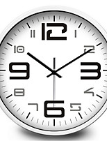 Simple Digital Clock Mute Creative Wall Clock