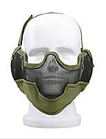 ZL-v2 con orejeras orejeras enfrentan máscara de muchos equipos de tiro de alambre