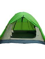 Tente- (Vert,3-4 personnes)Respirabilité / Résistant aux ultraviolets / Bonne ventilation / énorme