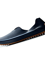 Men's Shoes PU Casual Loafers & Slip-Ons Casual Walking Flat Heel Others Blue / Beige