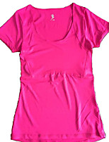 Women's Running T-shirt Running Quick Dry / Lightweight Materials / Comfortable Yellow / Pink / Black