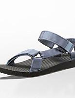 Zapatos de Hombre-Sandalias-Exterior / Deporte-Sintético-Azul