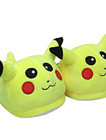 Pocket Little Monster Pika Pika Mouth Close With Ears Kigurumi Pajamas Warm Slippers Without Shoes Collar 28cm