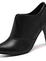 Women's Shoes Synthetic Spring/Summer/Fall/Winter Heels Heels Party & Evening / Casual Chunky Office & Career Black