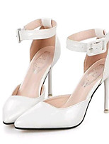 Women's Shoes Leatherette Spring / Summer / Fall Heels Heels Party & Evening / Dress Stiletto Heel Buckle