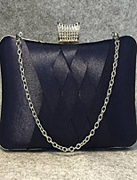Women-Event/Party-Other Leather Type-Evening Bag-Purple / Blue / Red / Gray / Black / Burgundy / Fuchsia / Almond