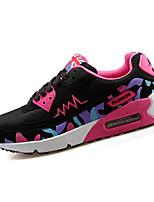 scarpe da donna tulle piatto di comfort del tallone / rotonde scarpe da ginnastica di moda punta atletiche / casuali giallo / verde /