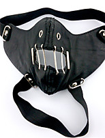 Tokyo Ghoul Black Rivet Mouth Mask PU Leather