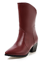 Women's Shoes    Heels / Fashion Boots Boots Outdoor / Office & Career / Casual Chunky Heel OthersBlack / &801