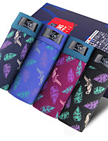 New Fashion Men's Cotton Underwear Health 4 Colour(4 Pcs/Box)