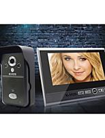 Wireless Doorbell KiVOS Home Plug Two Drag Three 7 Inch Video Camera Lock Intercom