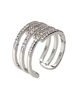 Alloy / Zircon Ring Band Rings Party / Daily / Casual 1pc