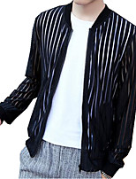 DMI™ Men's Mock Neck Striped Casual Jacket(More Colors)