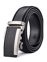 Business Ratchet Belt Luxurious  Genuine Leather
