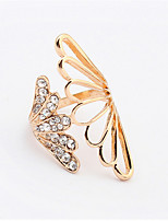 Fashion Exaggerated Angel Wings Ring
