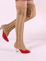 Women Warm Stockings,Acrylic / Cotton