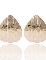 Fashion Personality Punk Vintage Heart-shaped Sequins Earrings