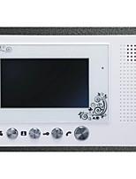 Slim Design 7 Inch Color Metal Rain Shell Hands-Free Intercom Function Digital Screen Video Intercom