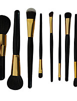 9 Professional Cosmetic Brush Beauty Tool Set