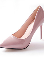 Women's Shoes Stiletto Heel Basic Pump Pointed Toe Heels Party & Evening Dress Black Pink Red White