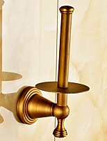 Antique Brass Fishinging Bathroom Accessories Solid Brass Material Toilet Paper Holders