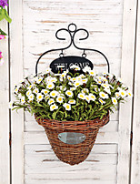 Hi-Q 1Pc Decorative Flowers Real Touch Mini Daisy For Wedding Home Table Decoration Artificial Flowers