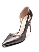 Women's Spring Pointed Toe PU Party & Evening Stiletto Heel Black / Brown / Pink / Red / Silver