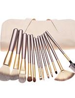 12 Makeup Brush Beauty Tools White Makeup Brush Set