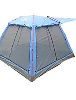 Tente- (Bleu,3-4 personnes)Respirabilité / Résistant aux ultraviolets / Bonne ventilation / énorme