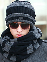 Unisex Wool Blend Scarf,Casual