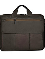 15inch Canvas Laptop Handheld Bag Black/Gray/Brown