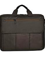 15inch Leinwand Laptop Handtasche schwarz / grau / braun
