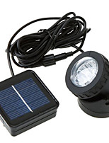 3W 6LED Solar Powered Spotlight IP68 Waterproof Outdoor Optical Sensor Garden Lawn Lamp Underwater Lighting Fixture
