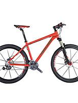 Mountain Bike Men's Women's Air  Fork Double Disc Brake Aluminium Alloy Frame Aluminium Alloy 27 Speed 26 Inch