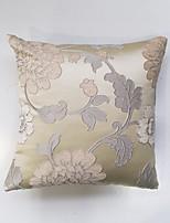 Polyester Housse de coussin,Fleur / Géométrique Traditionnel/Classique