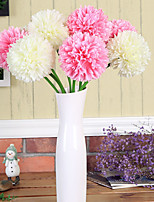 Hi-Q 1Pc Decorative Flowers Real Touch 5Colors Mini Hydrangea For Wedding Home Table Decoration Artificial Flowers