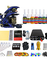 Paperback Practical Single Color Coil Machine Suits Tattoo Equipment (Handle Color Random Delivery)