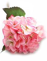 Seda / Couro Ecológico Rosas / Hortênsia Flores artificiais