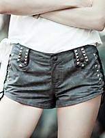 Aporia.As® Women's Low Rise Shorts Gray Casual Pants-MZ11015