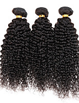 3 Pièces Kinky Curly Tissages de cheveux humains Cheveux Malaisiens Tissages de cheveux humains Kinky Curly