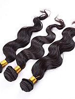 EVAWIGS 3 Bundles/Lot 300g Brazilian Virgin Hair Body Wave Human Hair Weaves Unprocessed Brazilian Hair Extensions