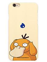 poche peu Psyduck 5,5 pouces couverture iphone 6p / 6splus dur tapis de téléphone portable monstre