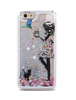 Painting Quicksand Phone Case for iphone5/5S