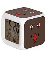 Poke Ball Colorful Flash Cartoon Alarm Clock-28#