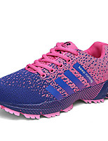 Women's Shoes Tulle Spring / Summer / Fall / Winter Comfort Athletic Shoes / Sneakers Lace-up Red Running
