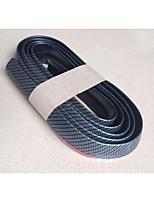 Automotive Supplies Carbon fiber/ Anti-Rub Metal Strip 4 Pcs