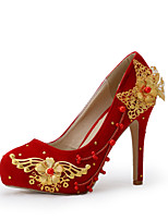 Women's Shoes Stiletto Heel Heels Heels Wedding / Party & Evening / Dress Red