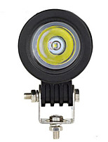 10w llevó el cree que trabaja la lámpara del proyector del faro de la motocicleta brillante llevó la linterna