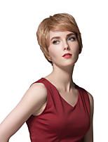 European Style Ultrashort Human Hair Wigs For Women