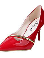 Women's Heels Summer Heels Patent Leather Casual Stiletto Heel Others Red / White Others
